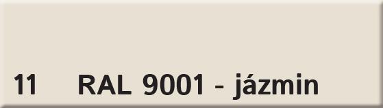 Farba 11 ral 9001 jasmin