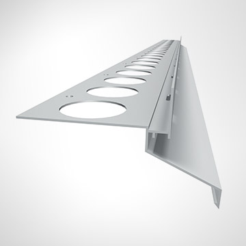 Balcony profile – DRIP PLUS (20 mm)