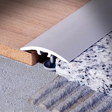Transition and skirting profiles